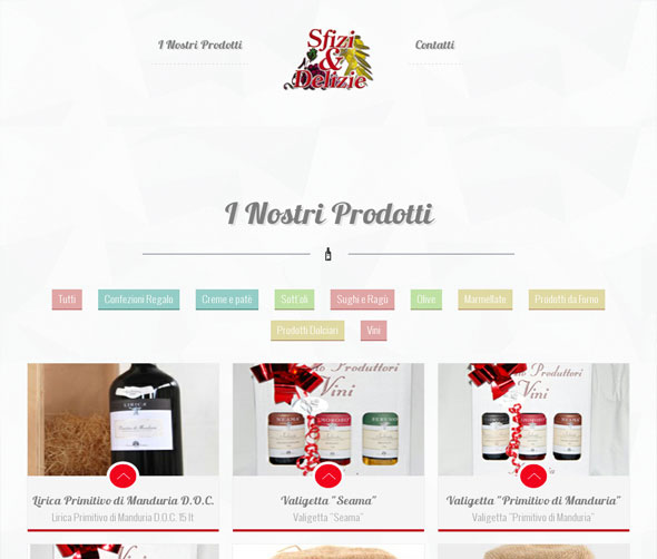 Sfizi & Delizie Online Catalogue